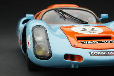 Exoto Gulf Porsche 910 / Vintage Racing / Scale 1:18 / #MTB00064G