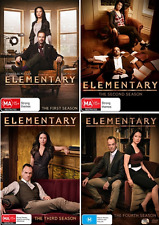 ELEMENTARY - Season 1 2 3 & 4 : NEW DVD