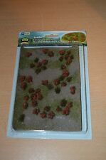 JTT Scenery Products HO Scale 95604 Flowering Meadow Red NEW SEALED