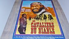 LES CAVALIERS DU DIABLE ! lee van cleef  jim brown affiche cinema western