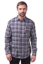 ARMANI JEANS Flannel Shirt Size XXL Long Sleeve Regular Collar Slim Fit RRP €190
