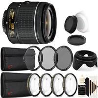 Nikon AF-P DX NIKKOR 18-55mm Lens for Nikon DSLR Cameras with Accessories