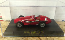 "DIE CAST "" FERRARI 625 F1 - 1954 MIKE HAWTORN "" SCALA 1/43  FERRARI F1"