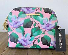 STEVE MADDEN Floral Crossbody Pink Lavender Purple Dome Handbag BMAGGIE DT607045