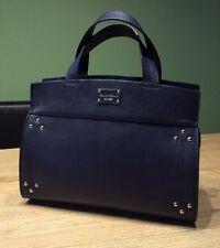 PAUL COSTELLOE Handtasche Damen Tasche Bag Leder Genuine Leather Dunkelblau