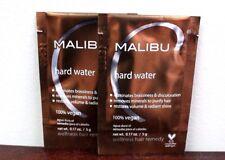 MALIBU C 2000 HARD WATER WEEKLY DEMINERALIZER TREATMENT 2 PACK~FRESH