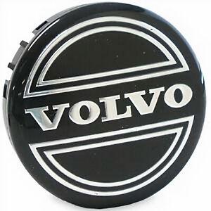 (1) OEM 2000-2004 Volvo V40 Black Wheel Center Cap Hub 70303 30666913