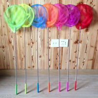 Novelty Kid Child Toy Extendable Handle Butterfly Net Insect Bug Fishing Tool