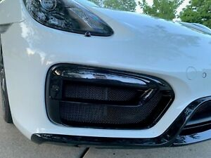 Porsche 981 GTS Boxster and Cayman Front Radiator Mesh Grilles 2013-2016