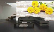 Yellow Flowers  Wall Mural Photo Wallpaper GIANT DECOR Paper Poster Free Paste