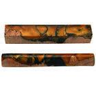 """Woodcraft Fiji Sunset Jasper Pen Blank -3/4"""" x 3/4"""" x 5-1/4"""" - Pen Kit Sold Sepa"""