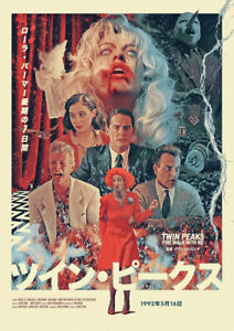 Twin Peaks Fire Walk with Me Movie Poster No frame
