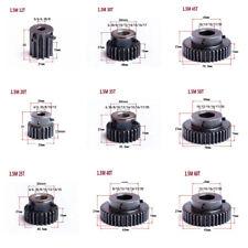 High Precision 1.5 Module 12T-60T Spur Gear 45# Steel Pinion Transmission Gear