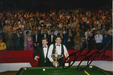 Joe Johnson mano firmado 6X4 Snooker Foto prueba 7.