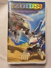Zoids Vol. 2: The High Speed Battle (VHS, 2002, English Language)