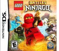 Lego Battles: Ninjago - 2011 WB Games - (Everyone) - Nintendo DS