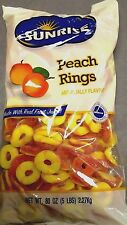 Sunrise Peach rings 5 Lbs.