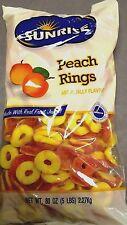 Sunrise Peach rings 5 Lbs. *