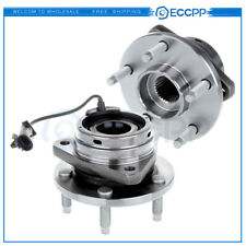 2 New Complete Front Wheel Hub Bearing 05-2010 PONTIAC G6 ABS W/ 5 Studs