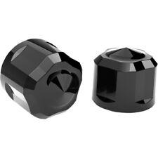 Ciro 70022 Black Diamond-Cut Crown Engine Bolt Cap Set Harley Milwaukee 8 M8 17-