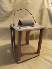 New listing Primitive Antique 19th C Lighting Barn Candle Lantern As Is -Restoration Repair