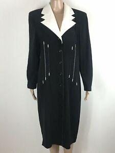 Escada margaretha Ley dress velvet vintage Escada dress cotton X large size dress