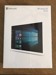 Windows 10 Home 32/64 Bit ENG INTL USB FQC-00017 USB 3.0 included New Sealed
