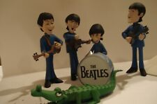 THE BEATLES McFARLANE SATURDAY MORNING CARTOON FIGURES DELUXE SET OF 4
