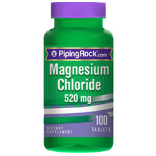 Magnesium Chloride 520 mg 100 Tabs by Piping Rock
