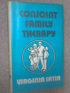 Conjoint Family Therapy (Condor Books) by Satir, Virginia M. Hardback Book The