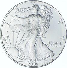 Better Date 2002 American Silver Eagle 1 Troy Oz .999 Fine Silver *135