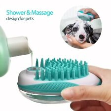 Pet Brush Bath Massage Brush, Convenient for  Cats and Dogs General Cleaning