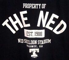 NED SKELDON STADIUM small tee distressed T shirt Toledo Mud Hens baseball Ohio