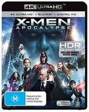 X-Men Apocalypse 4K Blu-Ray + UHD + UV : NEW 4K Ultra HD