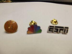 ESPN CBS PIN-Sports Network Hat Lapel Pin