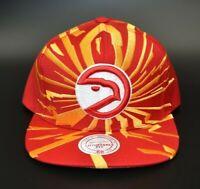 Atlanta Hawks Mitchell & Ness HWC Retro Shockwave Adjustable Snapback Cap Hat