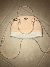 Coach Mini Satchel Convertible Bag