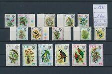 LM94182 Fiji 1971 flowers birds animals fine lot MNH cv 60 EUR