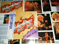 HSAS SAMMY HAGAR, NEIL SCHON, Japan 28AP-2825 NM LP+Obi+Poster THROUGH THE FIRE
