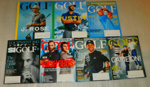 Golf Magazine Sports Illustrated Lot 7 US Open Masters Tiger Woods Augusta Trump