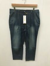 adidas NEO Women's Drop Crotch Fishing Jeans - W30 L30 - Denim - New