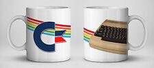 Commodore 64 Retro Computer Mug (C64 breadbin Commodore Logo)