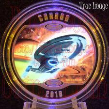 2018 - Star Trek - Voyageur NCC-74656 - 1/2 oz $10 Proof Pure Silver Coin Canada