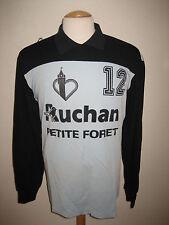 France vintage MATCH WORN handbal shirt jersey maillot trikot handball size L