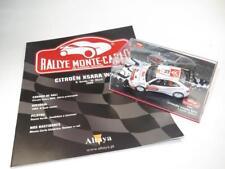1/43 Diecast CITROËN XSARA WRC Rallye Monte Carlo SORDO 2006 ALTAYA With Booklet
