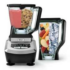 NEW Ninja 1100 Blender Food Processor Bread Dough & Batter Mixer 2 Pitchers
