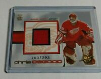 CHRIS OSGOOD - 2001 PACIFIC CROWN ROYALE - JERSEY - #103/592 - RED WINGS -