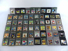 Gros lot NINTENDO game boy & game boy color 59 jeux bon état retrogaming