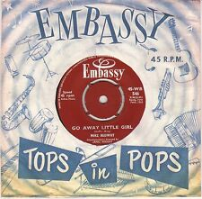 "MIKE REDWAY ""GO AWAY LITTLE GIRL"" POP ROCK 60'S SP  EMBASSY 546"