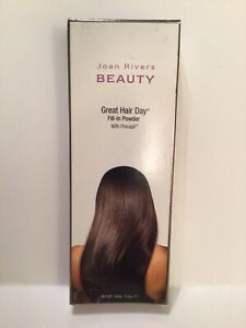 Joan Rivers Beauty Great Hair Day Fill-In Powder BLONDE with Procapil New In Box